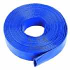 "3"" (75mm) FLAT DISCHARGE HOSE BLUE"